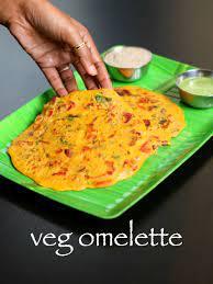 eggless omelette recipe tomato