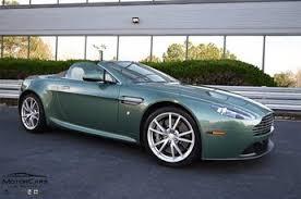 Used 2013 Aston Martin V8 Vantage Aston Martin Racing Green Rwd Convertible For Sale In Atlanta Ga 3037c