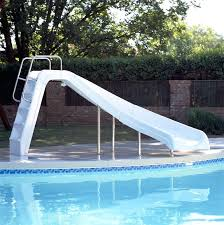 swimming pool with slide swimming pool slide wax