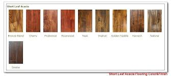 Floor Stain Color Chart Color Acacia Wood Flooring Stain Color Chart Acacia Wood