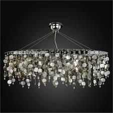 glow lighting chandeliers. Oval Chandelier - Mother Of Pearl   Midnight 582 By GLOW Lighting Glow Chandeliers A