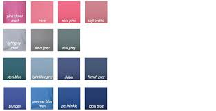 Dove Grey Colour Chart Summer The Different Types