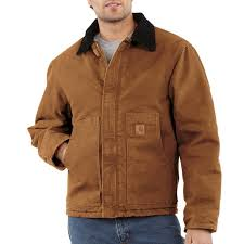 Carhartt Men's Sandstone Duck Arctic Quilt Lined Traditional ... & Carhartt Men's Sandstone Duck Arctic Quilt Lined Traditional Jackets J22 Adamdwight.com