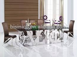 metal frame glass top dining table. special design 304 stainless steel dining room table with glass top, metal and chair frame top e