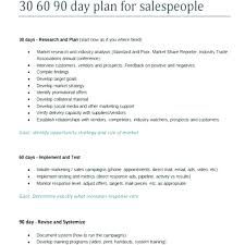 30 Day Marketing Plan Template