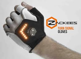 Light Up Gloves Amazon Zackees Turn Signal Cycling Gloves
