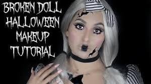ed broken doll makeup