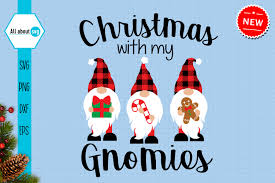 Free christmas icon sets : Christmas With My Gnomies Svg Graphic By All About Svg Creative Fabrica