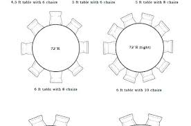 6 ft table dimensions round size for people co incredible concept 64 wedding tips round table for 8 size 6