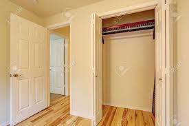 Kleines Schlafzimmer Interieur Schließen Sie Bis Ansicht Von Leeren