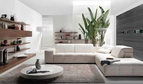 low round coffee table white