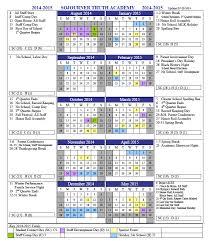 School Calendar Template 2015 2020 2014 2015 School Calendar Sojourner Truth Academy