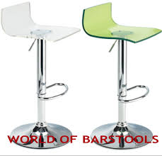 Acrylic Barstool Fusion Acrylic Bar Stool Available In Many Colours Ebay
