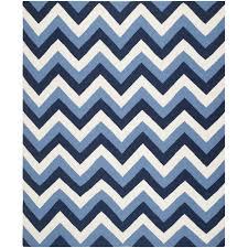 homey blue chevron rug navy 9 x 12 area rugs
