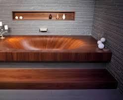 Wooden Bathtub Beautiful And Ergonomic Handmade Wooden Bathtub Laguna By Alegna