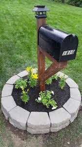 landscaping around mailbox post. Mailbox As Ideas Landscaping Around Post