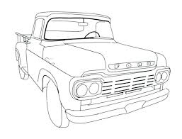 pickup truck coloring pages pickup truck coloring pages corvette coloring pages old truck coloring pages unique