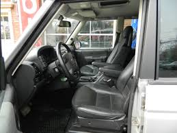 silver 2004 land rover discovery for interior