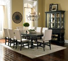 we are loving this beautiful and classical dining room set and the nailhead trim looks perfect