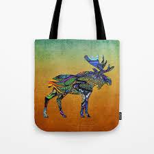 Moose Design Bags Designer Moose Tote Bag