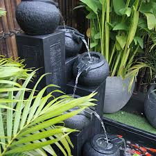 water fountain for garden backyard water fountains