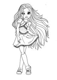 beautiful girl coloring pages. Exellent Girl Moxie Girlz  Beautiful Girl Avery From Girlz Coloring Pages Intended R