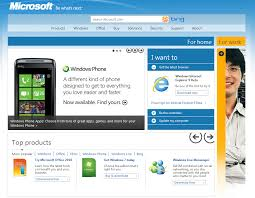 Micro Soft Home Page Microsofts New Home Page Goes Metro Cnet