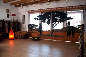 Modern African Room Design