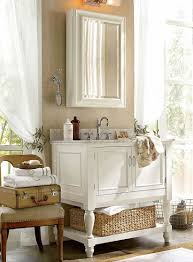 Decorate Small Bathrooms How To Furnish A Small Bathroom Pottery Barn