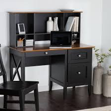 mainstays black student desk with optional office chair