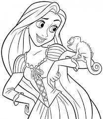 Luxury Disney Princess Coloring Pages Online Printable For Beatiful