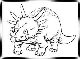Small Picture Printable Dinosaur Coloring Pages
