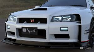 Your nissan skyline is fast, make it look the part too with ground effects or a body kit, and individual components like scoops, rear spoilers, diffusers, and more. R34 Nissan Gt R Looks Like A Nismo Supercar In Glossy Widebody Rendering Autoevolution