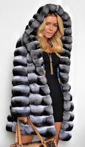 chinchilla furs 2016 lafuria real royal chinchilla fur coat
