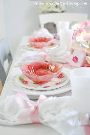 white table settings. Pink And White Table Setting Settings N