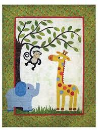 33 best Jungle quilt ideas images on Pinterest | Baby blankets ... & Jungle Quilt Pattern Adamdwight.com