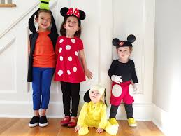 easy diy mickey pals costumes