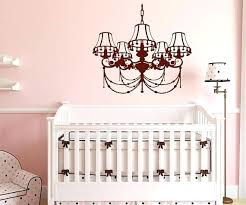 chandelier wall decal inspirational best kids room decor decals and stickers images on silhouette decoration gold