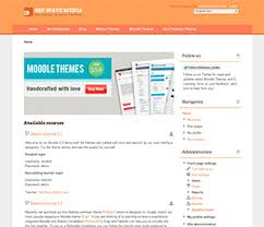 moodle templates freebies elearning themes