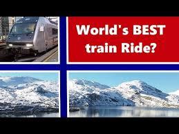 world s best train ride bergen to oslo