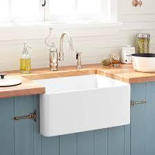 20 Reinhard Fireclay Farmhouse Sink White Kitchen