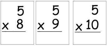 Help Me 2 Learn Company Multiplication Flash Cards