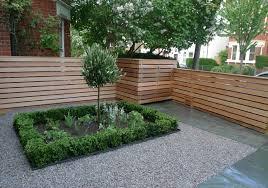 garden fence front garden design