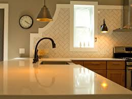Travertine Kitchen Backsplash Brown Glass Subway Travertine Backsplash Tile Kitchen Tile Ideas