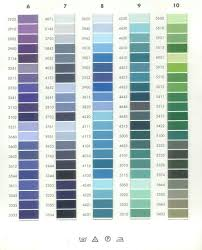 Isacord Color Chart Embroidery Thread Tex Thread Coats Bobbins Akermann