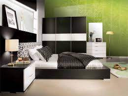 Modern Bedroom Black Modern Concept Black And White And Green Bedroom Black White And