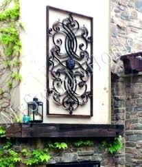 extra large outdoor wall art metal artwork uk exterior wal