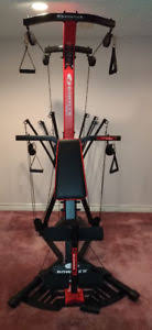 bowflex pr3000 home gym almost brand new