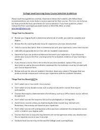 peer critique checklist college level learning essay college level learning essay course selection baker university