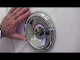how to repair a moen shower tub valve